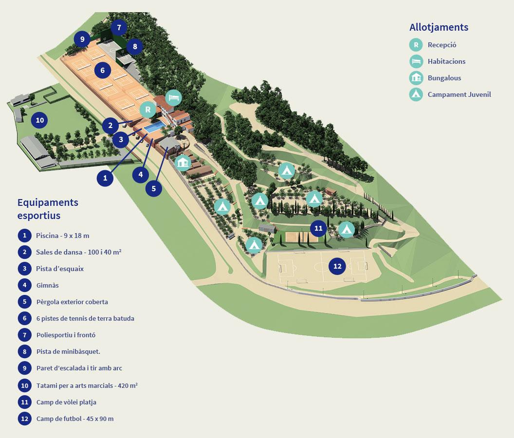 Eurostage: Casa de Colònies a Caldes d'Estrac (Caldetes)